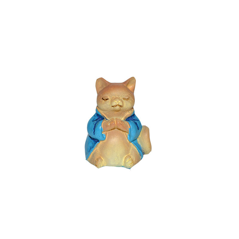 Buddha Animal - Cat - MyFairyGardens.com