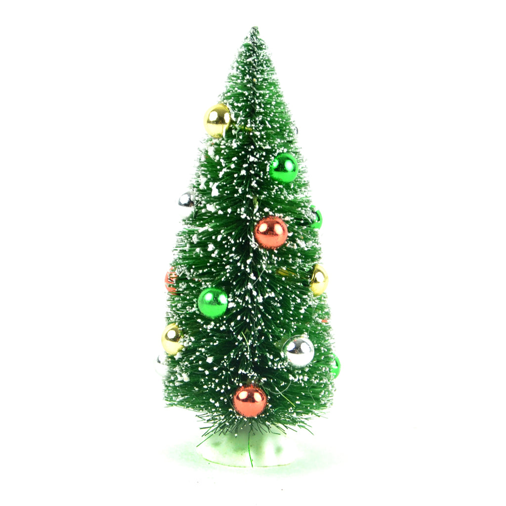 Christmas Tree With Ornaments 6""