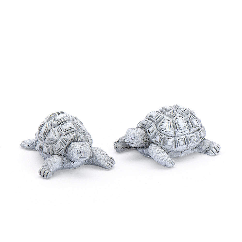 Zen Garden Tortoises - Set of 2 - MyFairyGardens.com