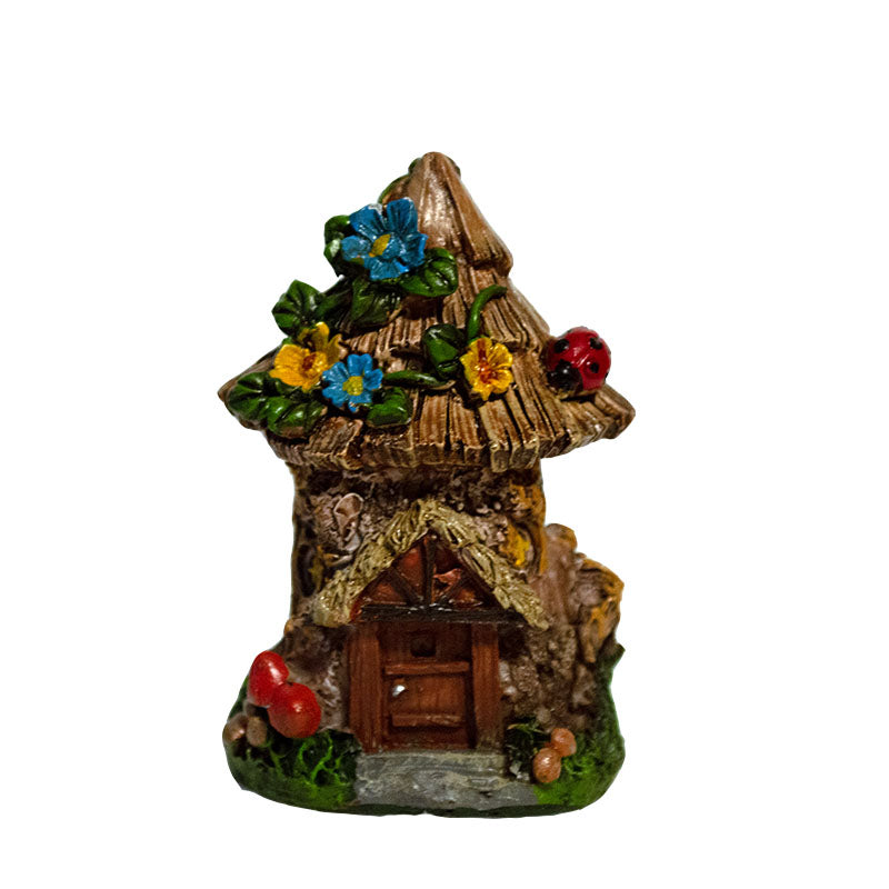 Micro Mini Woodland Cottage - MyFairyGardens.com