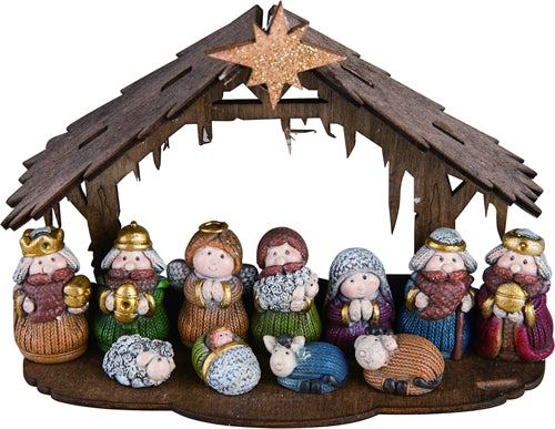 Nativity - Set of 12 - MyFairyGardens.com