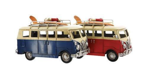 60's Fairy Surfer Van - Blue or Red - MyFairyGardens.com