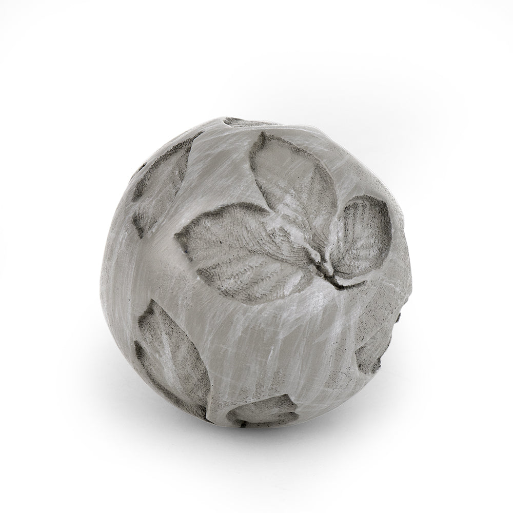 Zen Orb - Leaves - MyFairyGardens.com