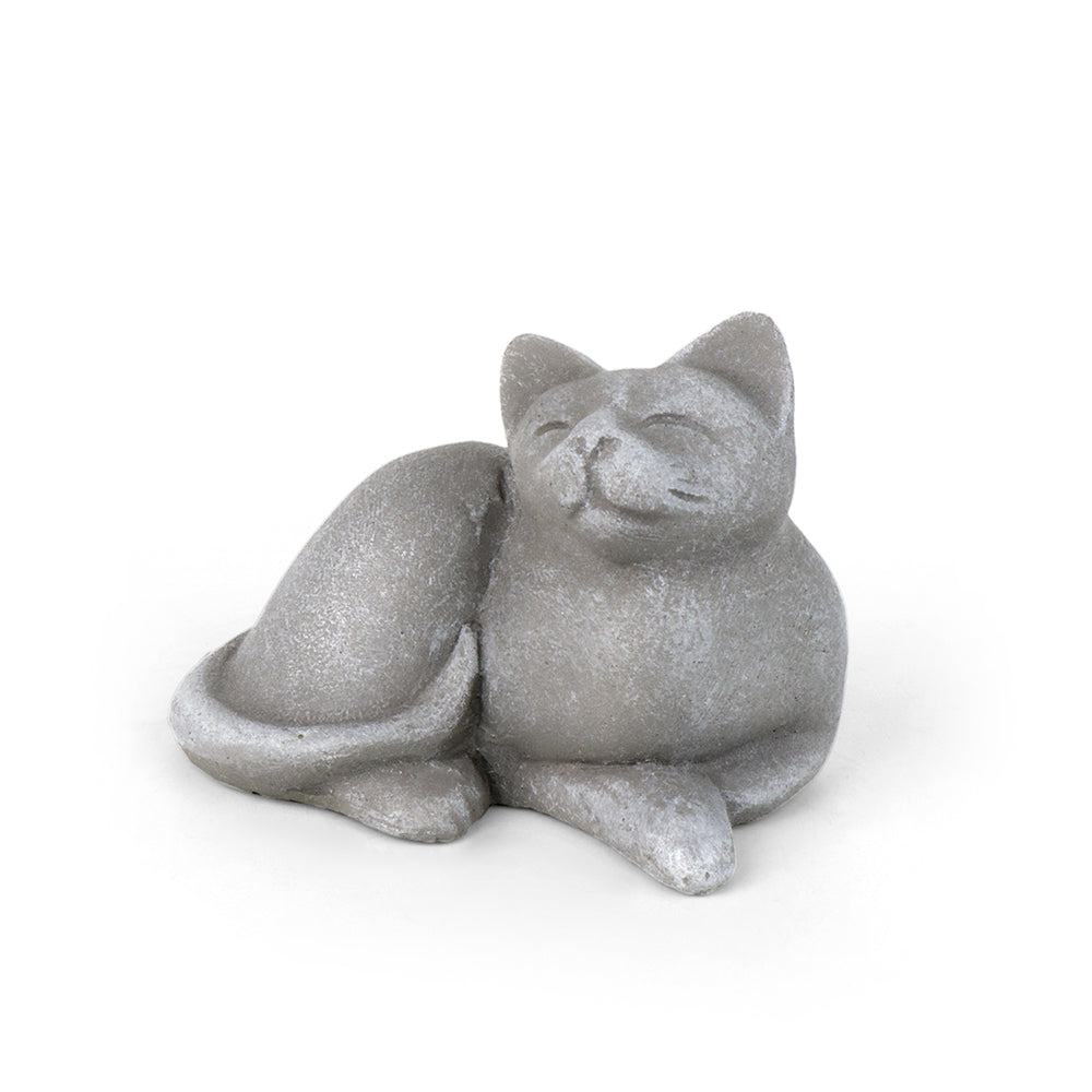 Zen Garden - Napping Cat - MyFairyGardens.com