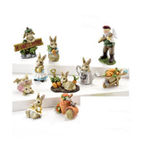 Easter Peter Rabbit & Mister McGregors Farm - Set of 10 - With or Without Display Base