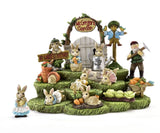 Easter Peter Rabbit & Mister McGregors Farm - Set of 10 - With or Without Display Base - MyFairyGardens.com