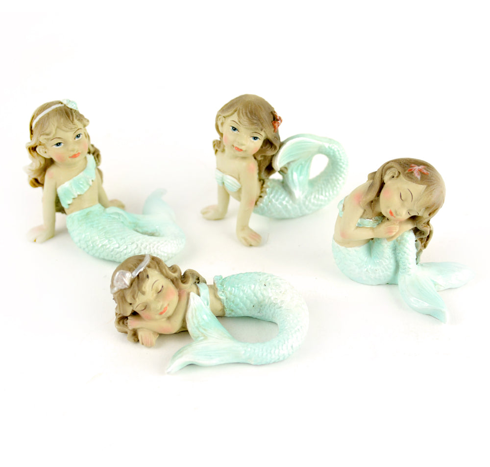 Garden Mermaids - Set of 4 - MyFairyGardens.com