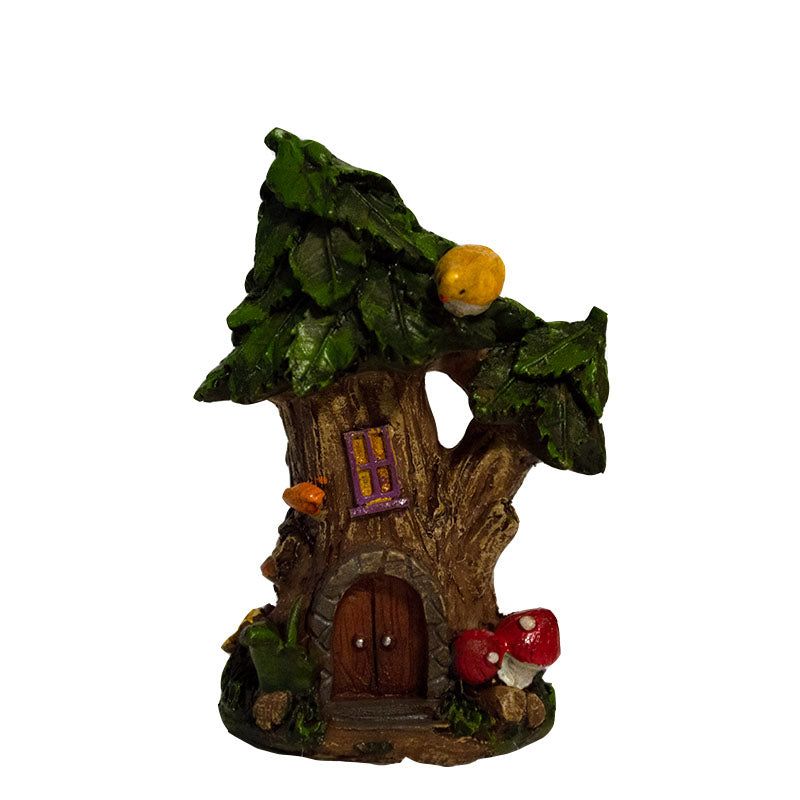 Micro Mini Cozy Tree House - MyFairyGardens.com