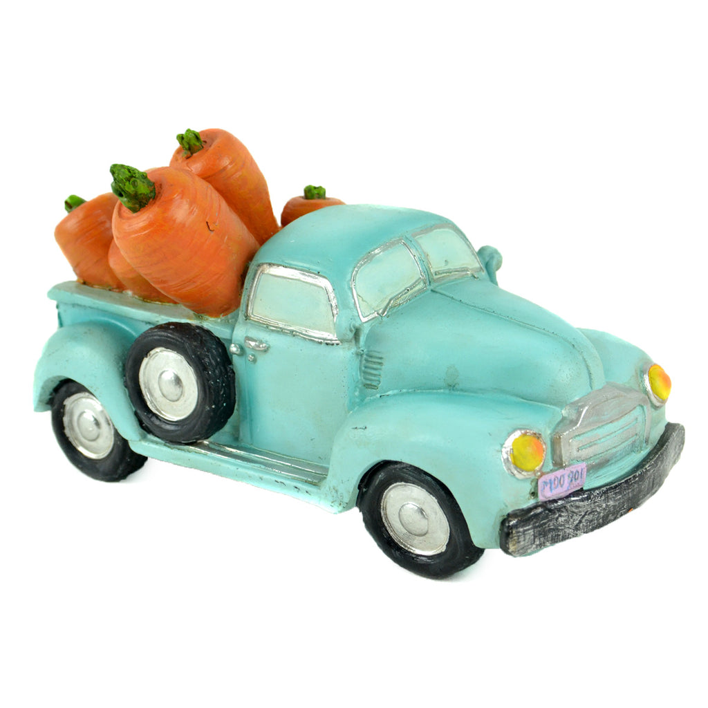 Vintage Truck With Carrots