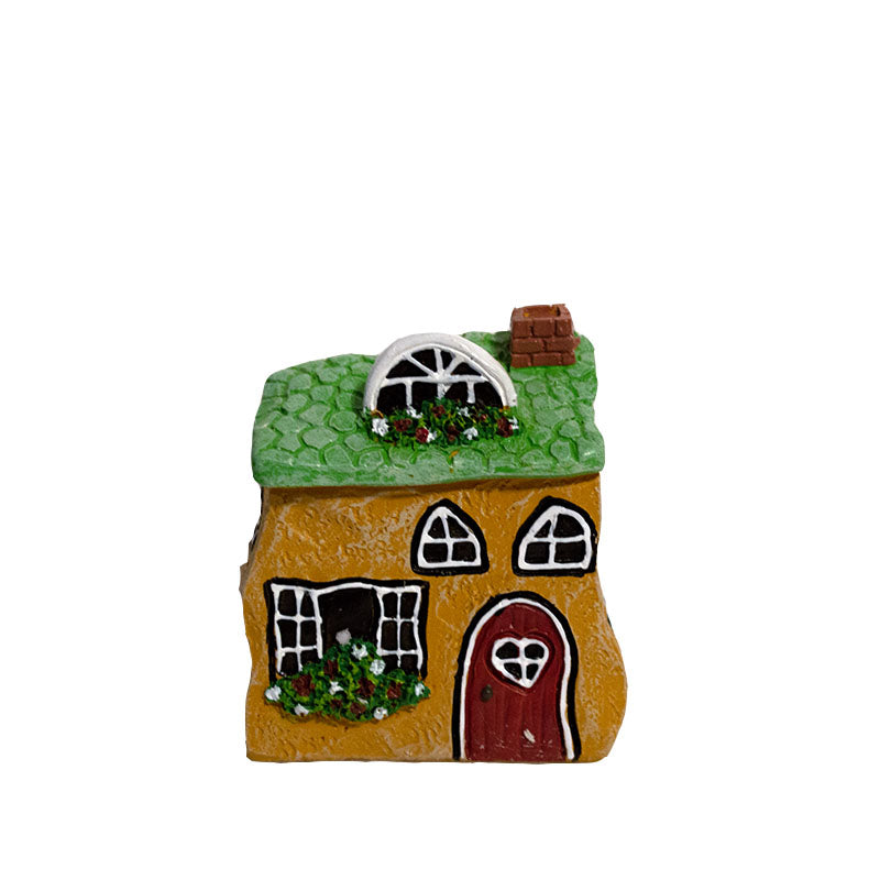 Micro Mini Fairy House - Cozy Cottage
