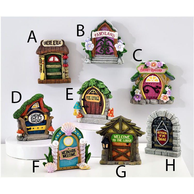 Tiny Fairy Doors - Individual or Set of 8 - MyFairyGardens.com