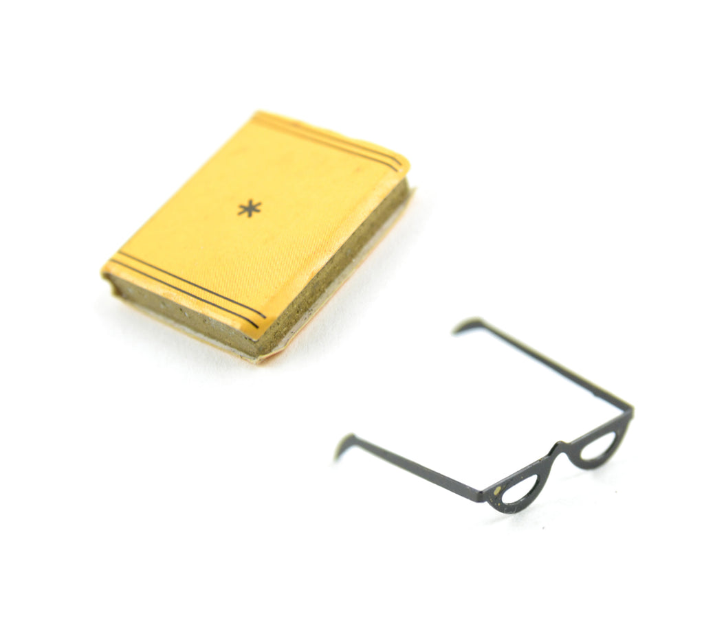 Mini Book with Glasses