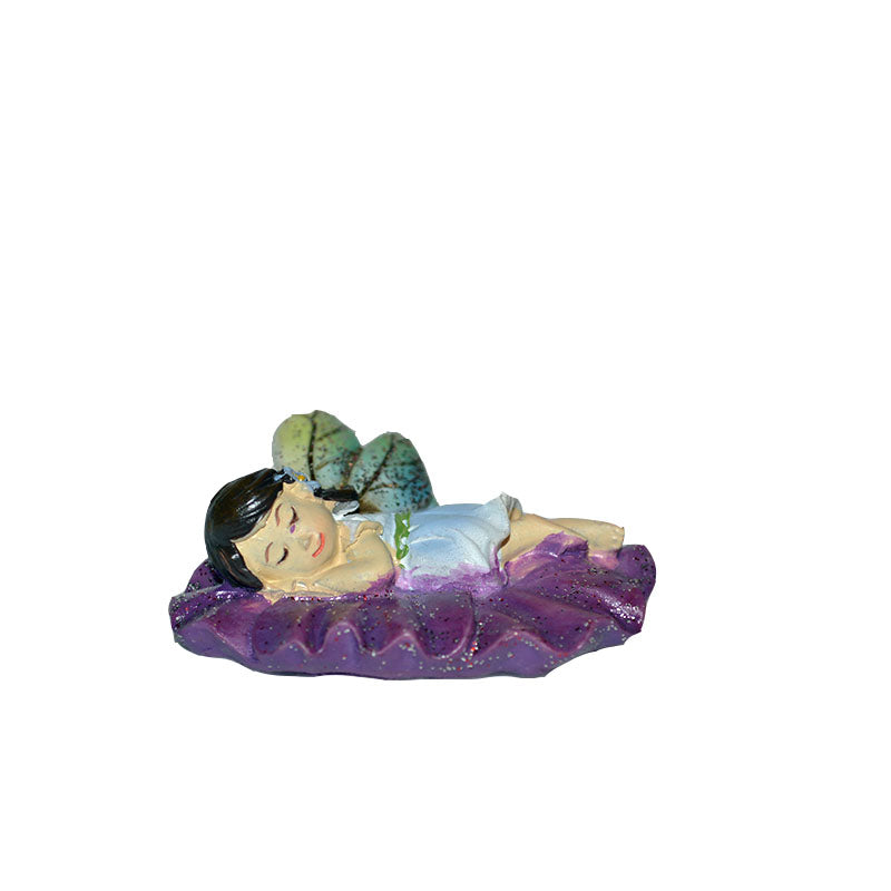 Butterfly Fairy - Sleeping Fairy - MyFairyGardens.com