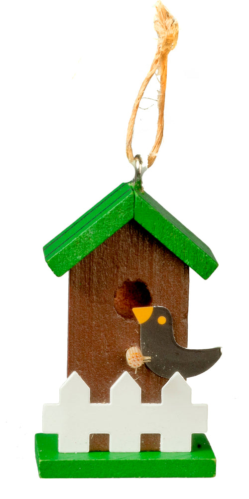 Mini Bird House - MyFairyGardens.com