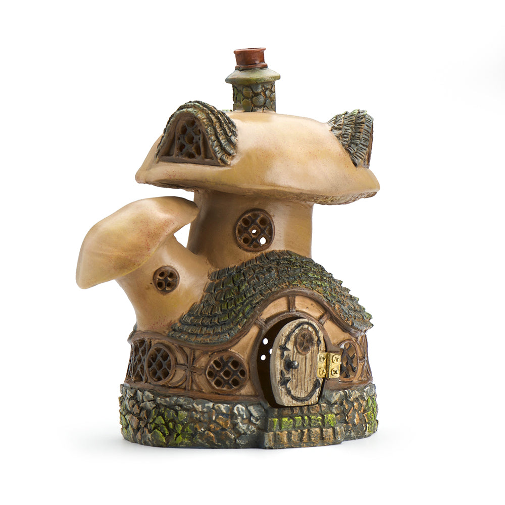 Double Mushroom House - MyFairyGardens.com