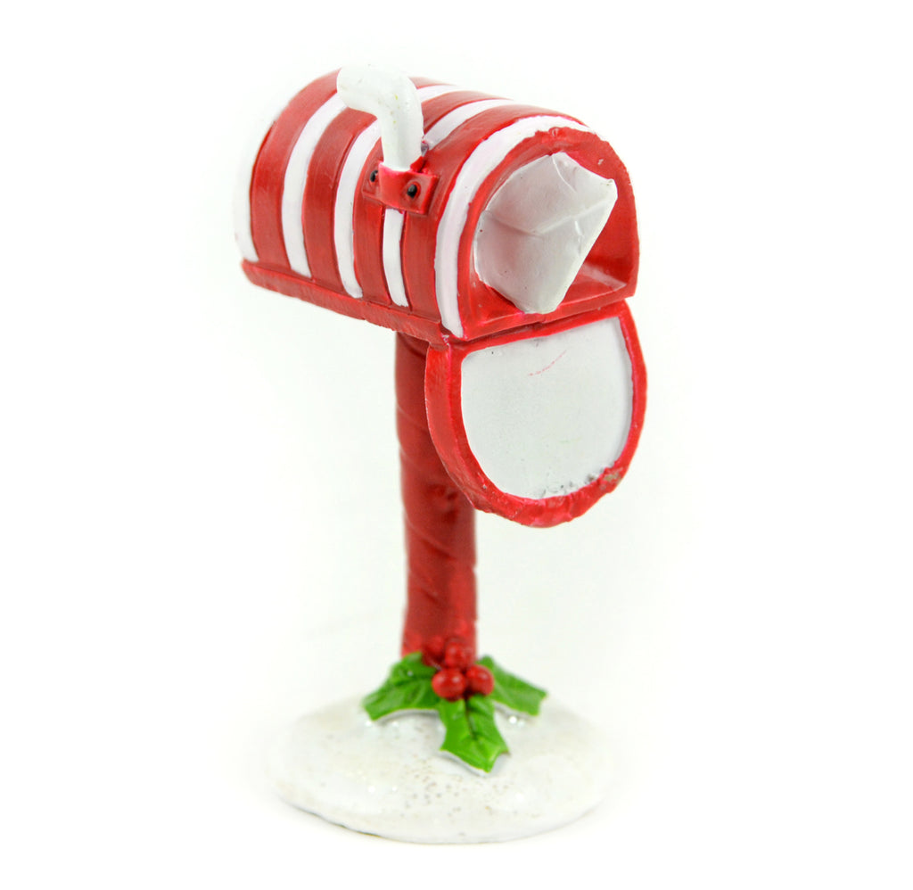 Candy Cane Mail Box - MyFairyGardens.com