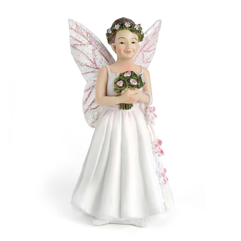 Ahvonne the Wedding Fairy - MyFairyGardens.com