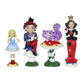 Fairy Garden-Alice In Wonderland Gardening Kit - Set of 4-Themes-Exhart-MyFairyGardens