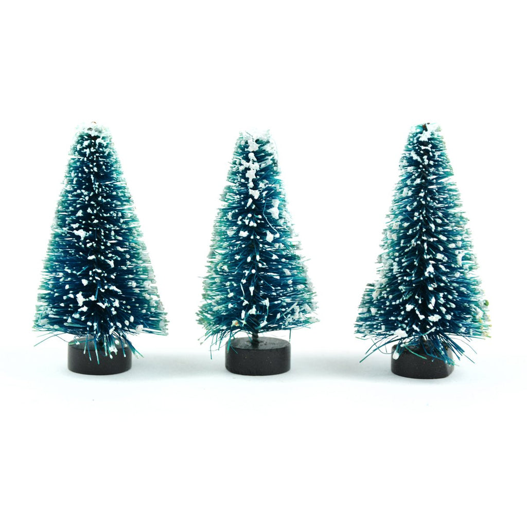 Blue Spruce Trees - Set of 3 - MyFairyGardens.com
