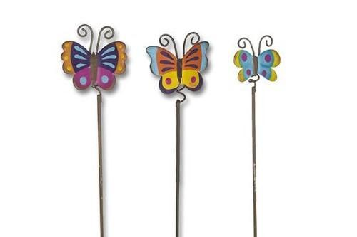 Butterfly Picks Set of 3 - MyFairyGardens.com