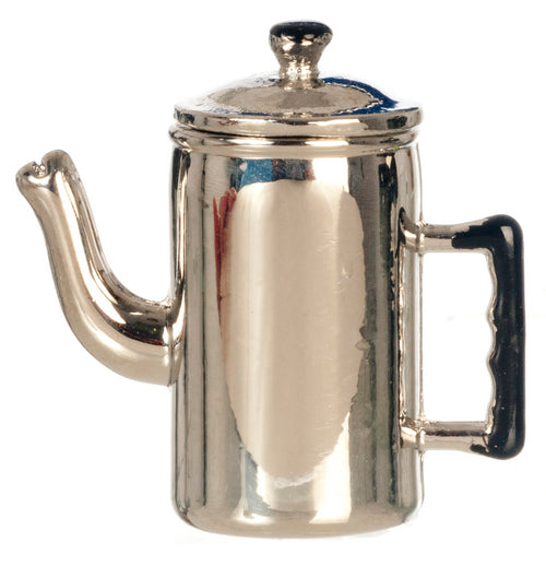 Metal Coffee Pot - MyFairyGardens.com