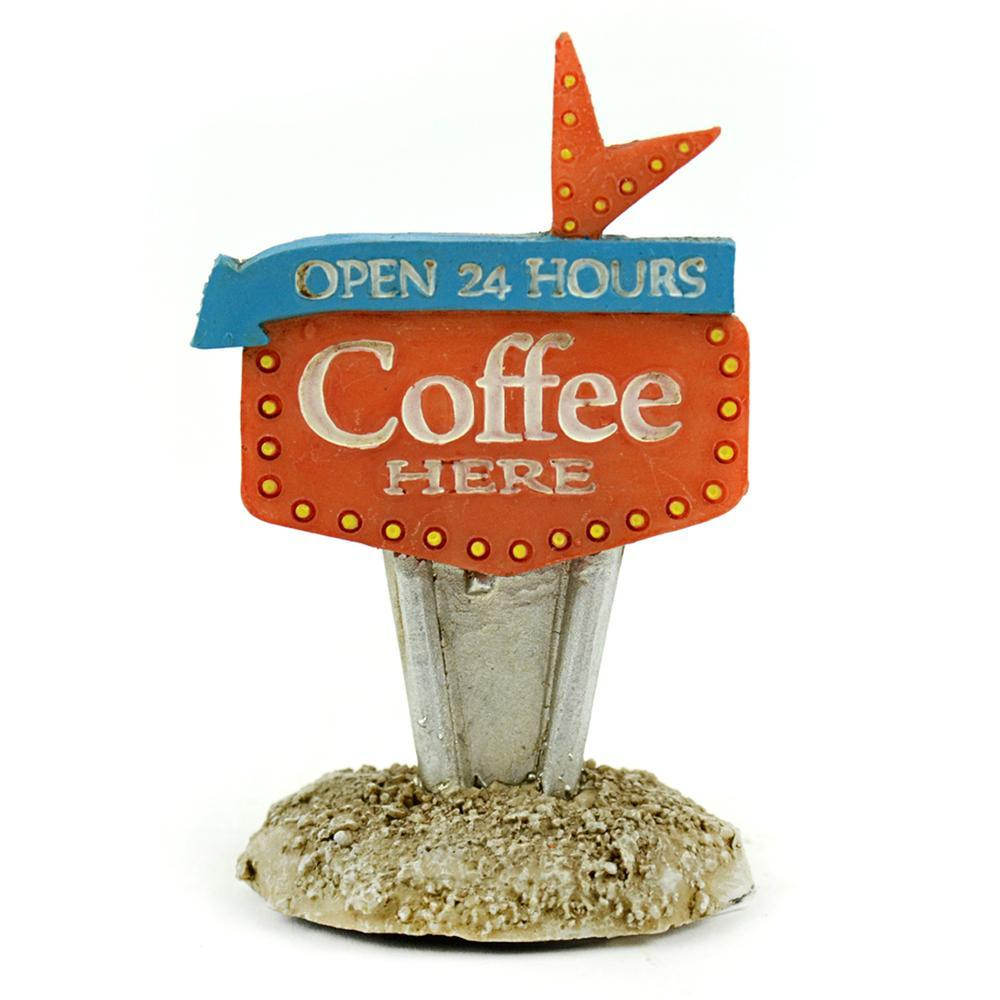 Fairy Garden-Coffee Here Sign-Accessories-Midwest Trading-MyFairyGardens