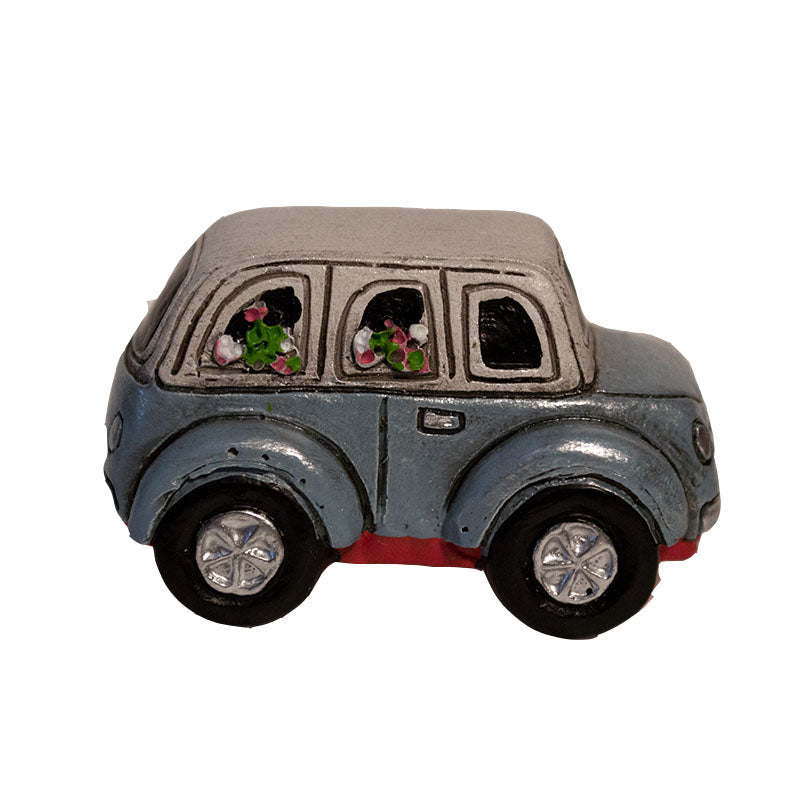 Micro Mini Flower Car - MyFairyGardens.com