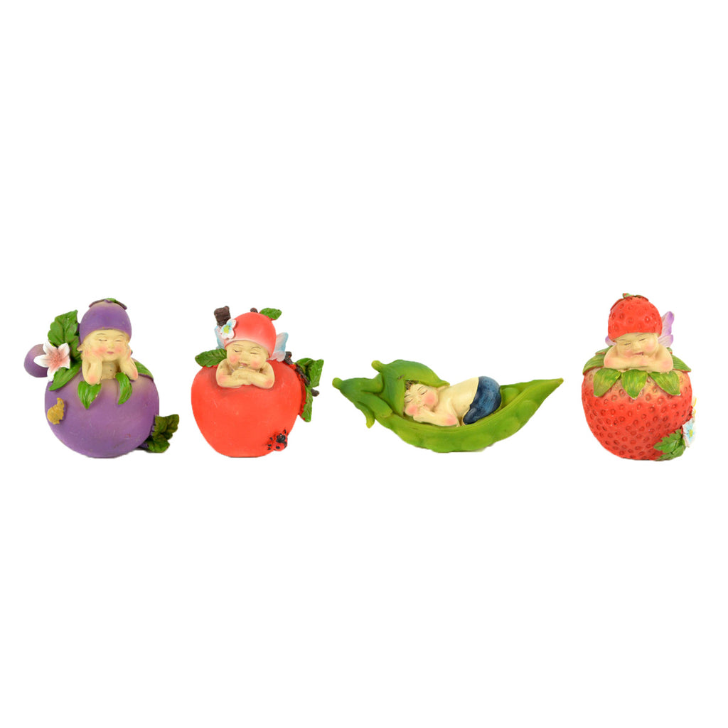 Fruit Fairy Babies - Set of 4