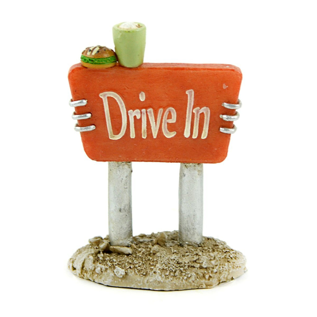 Fairy Garden-Drive in Sign-Accessories-Midwest Trading-MyFairyGardens