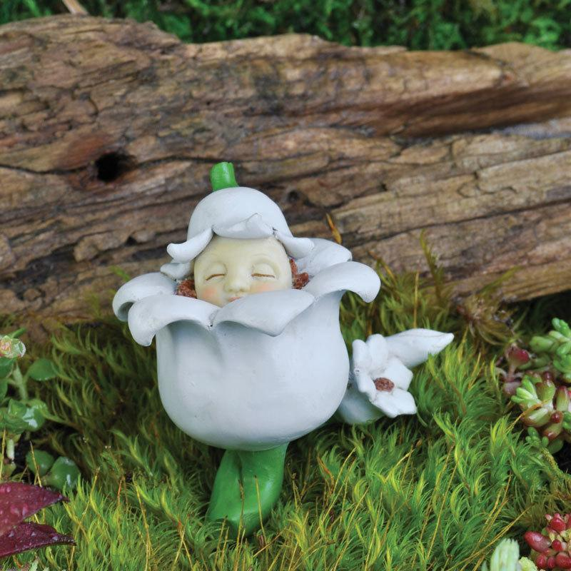 Fairy Baby of the Month - May Lily Of The Valley - MyFairyGardens.com