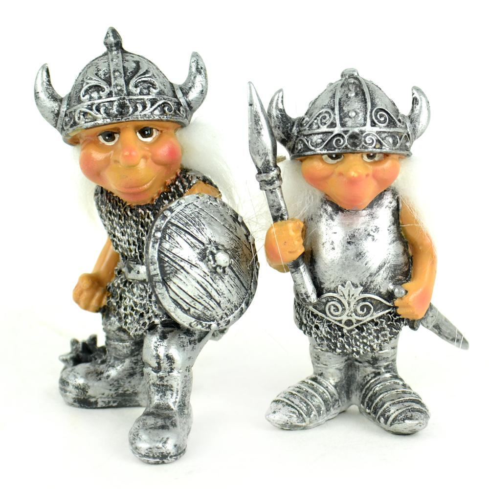 Fearless Knights - Set of 2 - MyFairyGardens.com