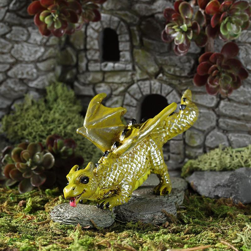 Fetching Dragon - MyFairyGardens.com