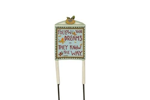 Fairy Garden-Follow Your Dreams Sign-Accessories-Studio M-MyFairyGardens