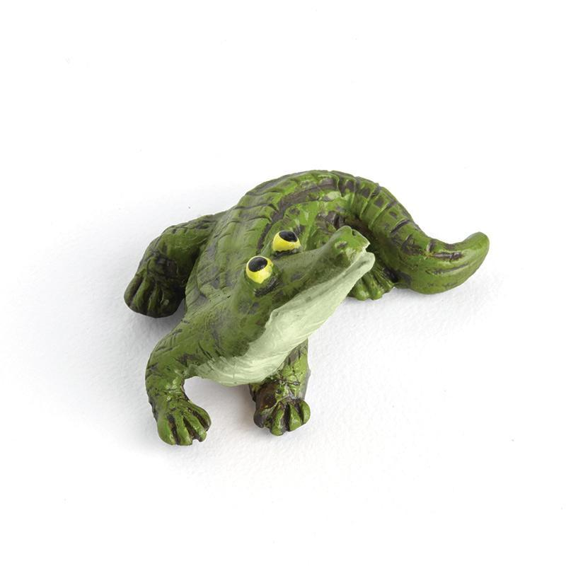 Green Alligator - MyFairyGardens.com