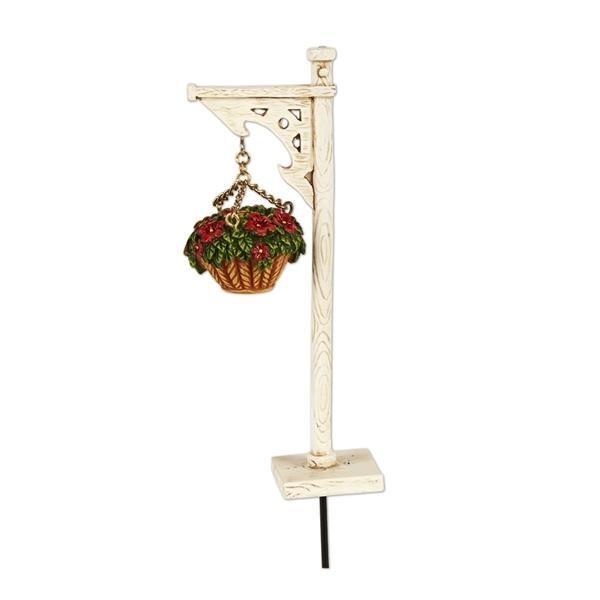 Hanging Basket with Stand - MyFairyGardens.com