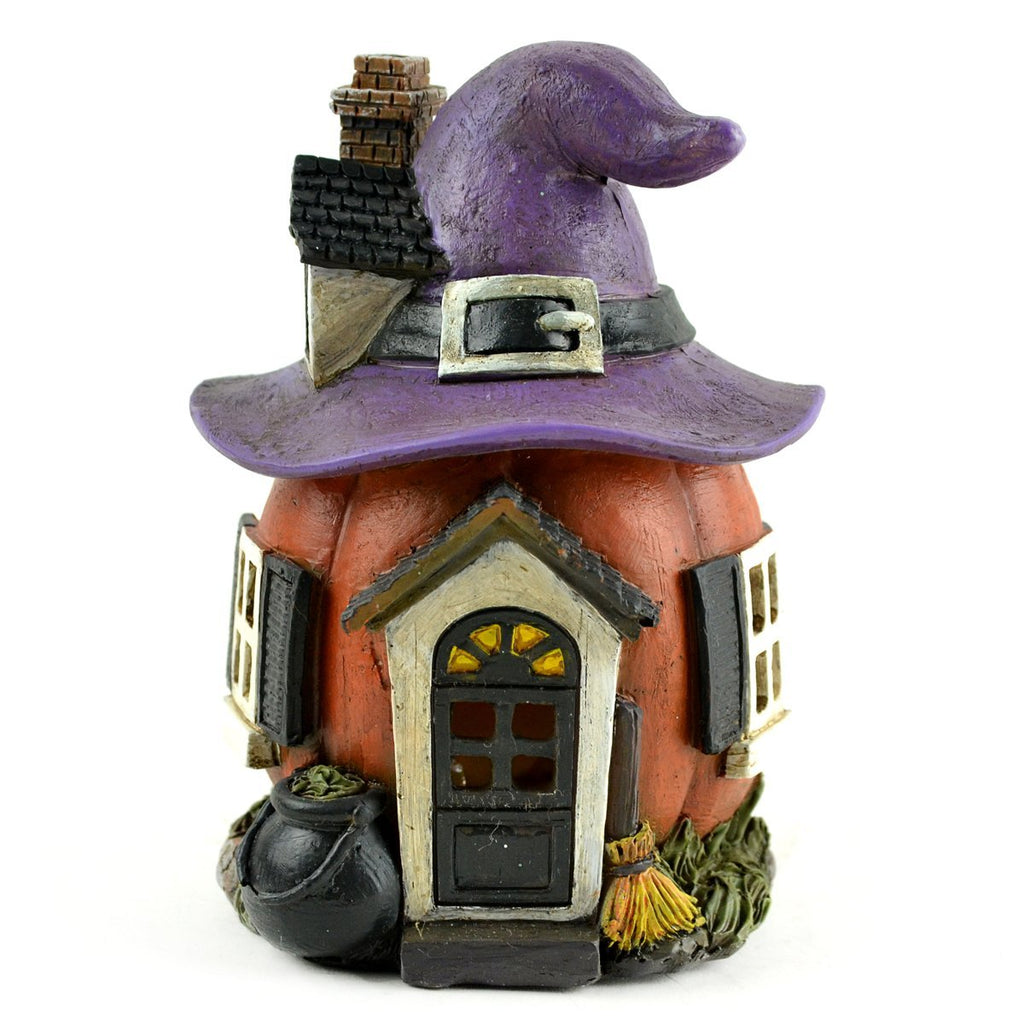 Fairy Garden-LED Witch Hat House-Midwest Design-MyFairyGardens
