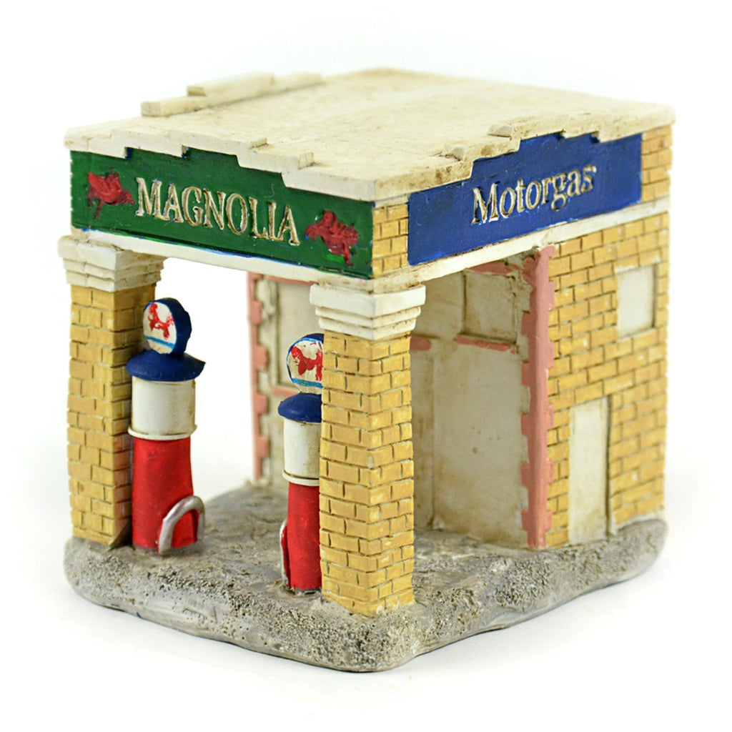 Magnolia Gas Station - MyFairyGardens.com
