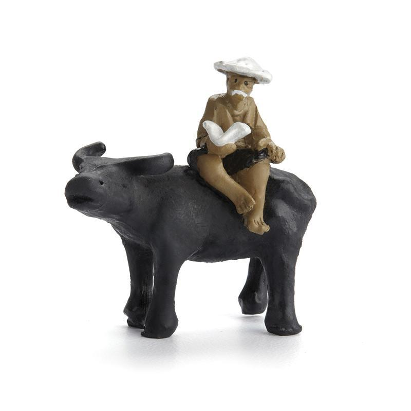 Man and Ox - MyFairyGardens.com