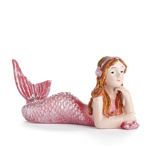 Fairy Garden-Mermaid with Headphones-Mermaids-Georgetown Home And Garden-MyFairyGardens
