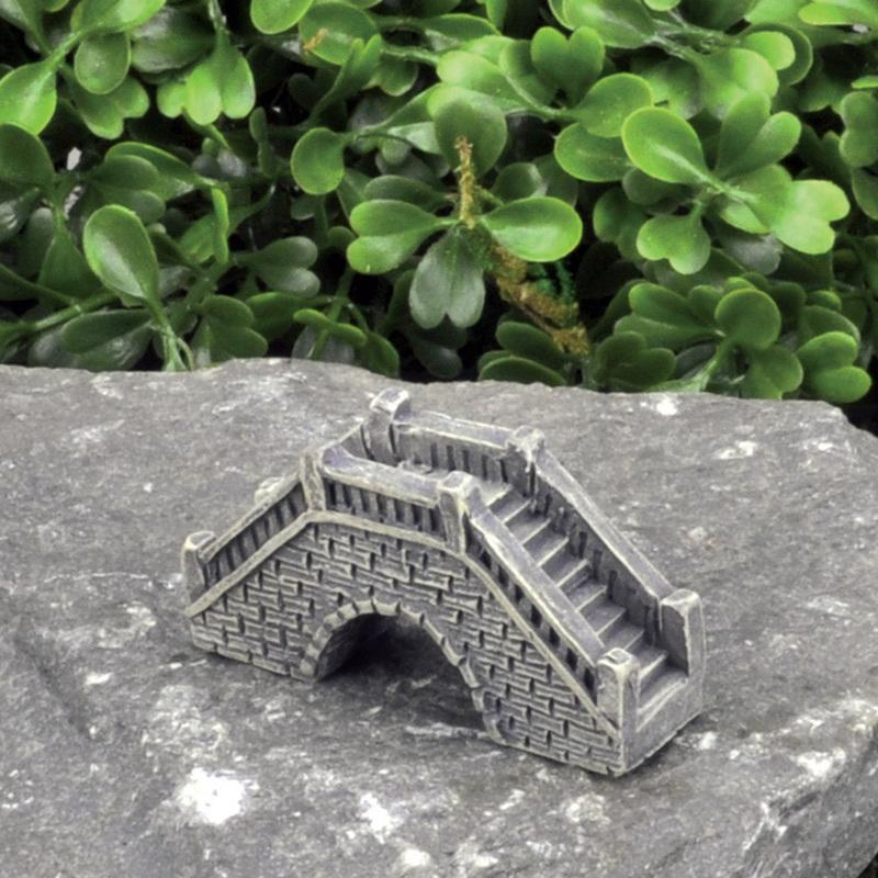 Micro Mini Stone Bridge - MyFairyGardens.com