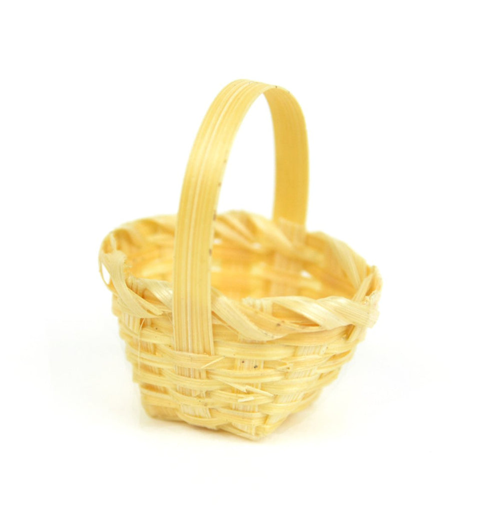 Mini Basket - MyFairyGardens.com