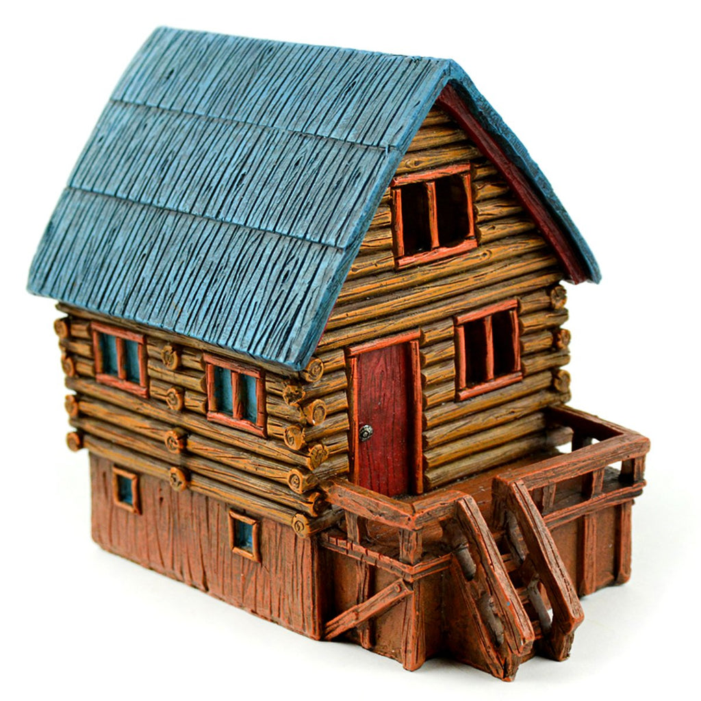 Fairy Garden-Mini LED Log Cabin-Houses-Midwest Trading-MyFairyGardens