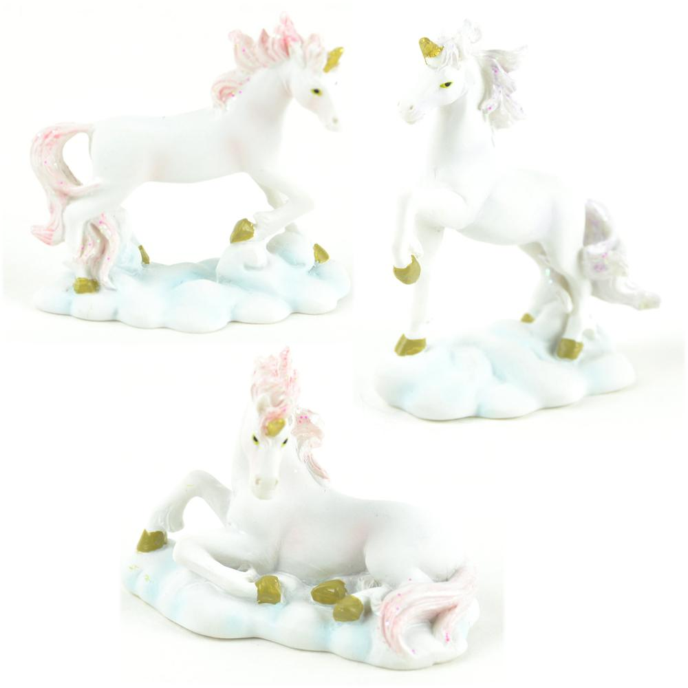 Mythical Unicorns - Set of 3 - MyFairyGardens.com