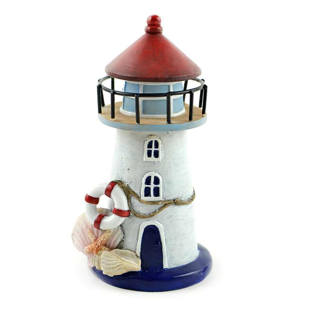 Fairy Garden-Nautical Lighthouse with Seashells-Themes-Midwest Trading-MyFairyGardens