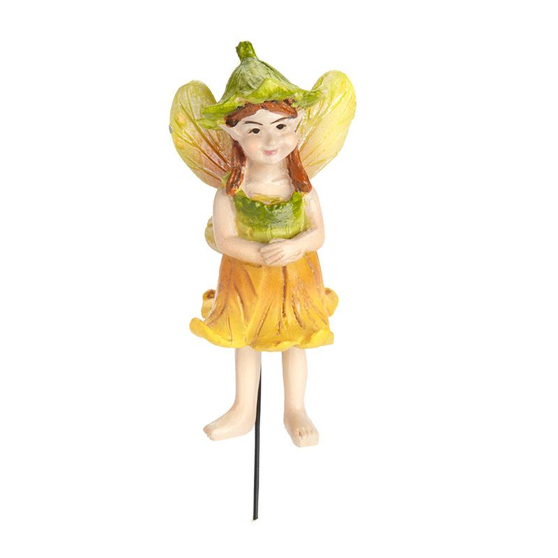 Pumpkin Blossom Fairy - MyFairyGardens.com