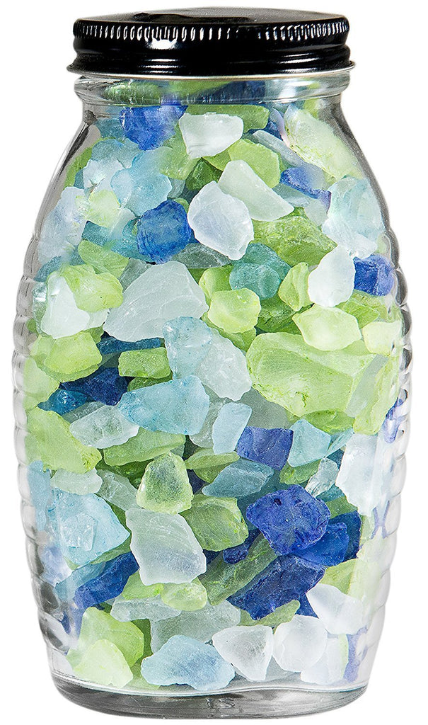 Fairy Garden-Sea Glass 11oz - Atlantic Mix-Accessories-Super Moss-MyFairyGardens