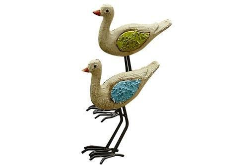 Fairy Garden-Shore Birds Set of 2-Animals-StudioMSale-MyFairyGardens