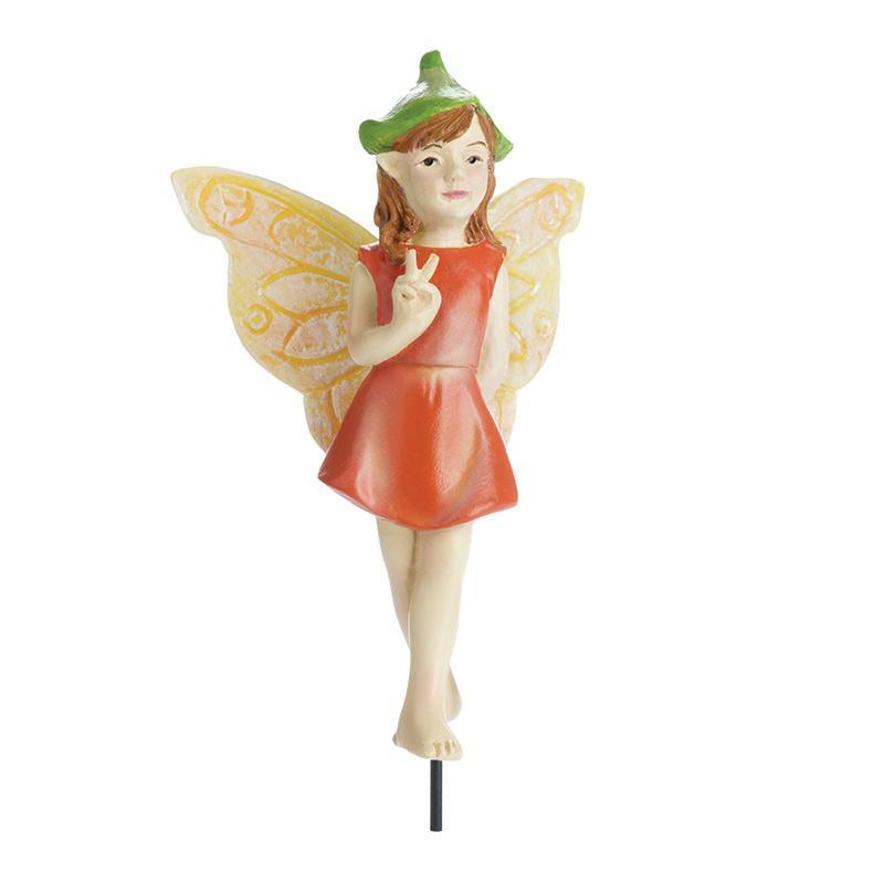Sign Language Fairy - Pazia - MyFairyGardens.com