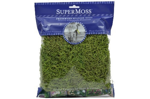 Spanish Moss 2oz - Basil Green