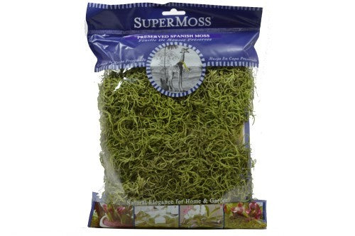Spanish Moss 2oz - Grass Green